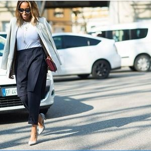 Zara Black Skirt Over Pant NWT